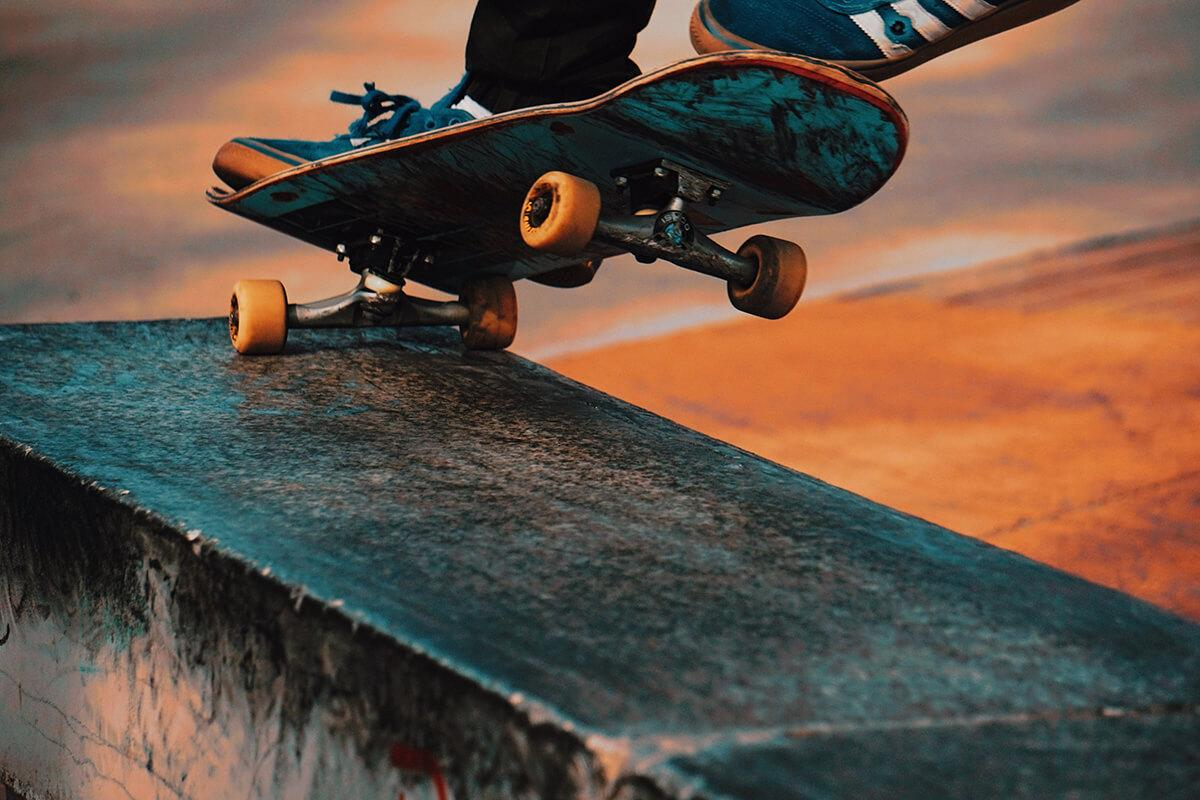 Sporting and skateboarding dental emergency